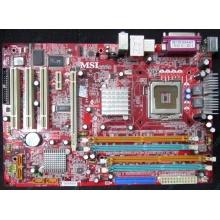 Материнская плата MSI MS-7140 915P Combo2 VER 2.0 s.775 (Нефтеюганск)